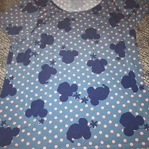 Lula Roe Minnie Mouse top